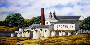 On the whisky trail - Lagavulin